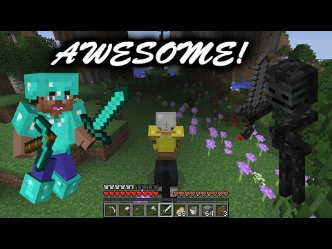 A Very Amazing Day In Minecraft!! (Horse Adventure, Skeleton Fight, & More!) (61)