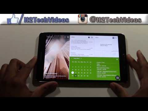 Galaxy Tab Pro 8.4 - How to Take a Screenshot​​​ | H2TechVideos​​​