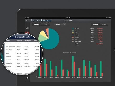 Pocket Expense [iPad] Video review by Stelapps