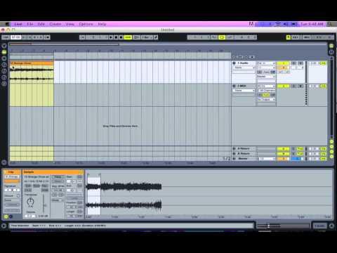 Ableton Live 8 Tutorial: Making a 4 Bar loop