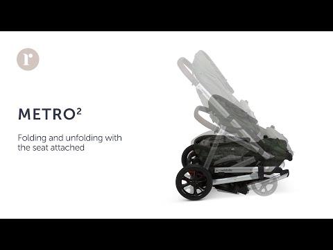 METRO² Pram - Fold & Unfold (with seat)