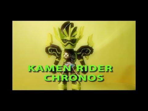 [エグゼイド] 仮面ライダークロノス ミニフィギュア製作 [Ex-aid] Making of kamen rider chronos chibi  with clay
