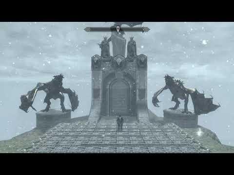 Skyrim SE - personal stash mod - doom shot PS4
