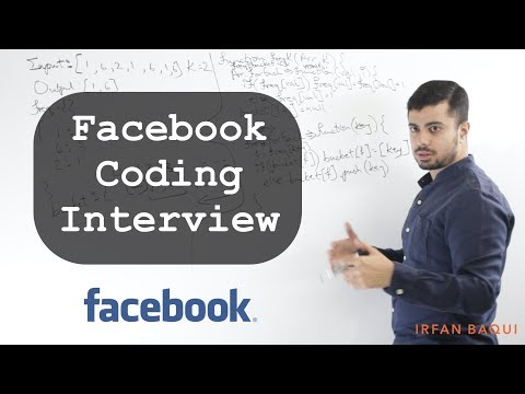 Facebook Interview: K Most Frequent Elements - Whiteboard Thursday