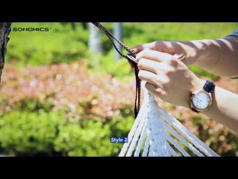 SONGMICS Hammock Straps UGDC300 UGDC301