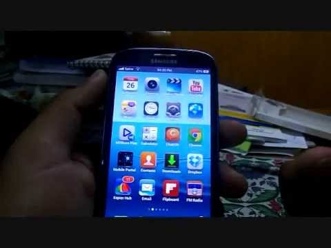 Convert Your Android To Iphone Full Port - GALAXY S3 tweaks