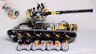 Lego® Technic 8x4 Tieflader LKW von Designer Han mit VOLVO