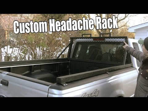 Build Your Own Custom Headache Rack/Window Cage (For Pick-up Truck)