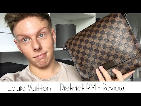 Louis Vuitton - District PM, Damier Ebene Review