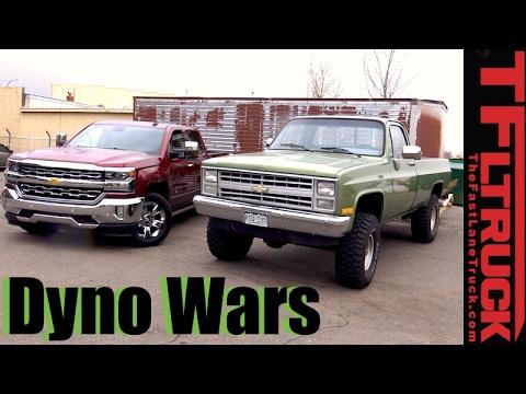 Old vs New Dyno Wars: Big Green vs 2017 Chevy Silverado 6.2L vs Dyno: - Ep.5