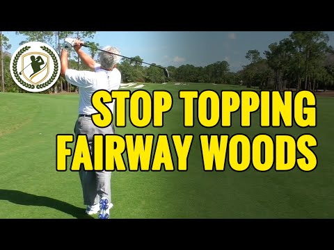 HOW TO STOP TOPPING YOUR FAIRWAY WOODS & HYBRIDS - HIT EM' CLEAN!