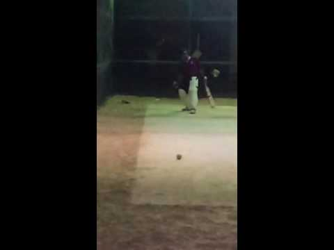 Batting in the Nets! Qatar u19 Cricket Team 2015