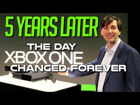 Xbox One Reveal: 5 Years Later - The Day Xbox Changed FOREVER!