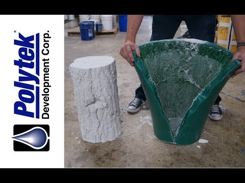 How to Make a Concrete Log Mold