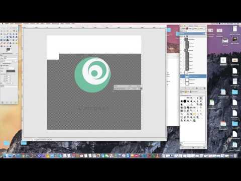 GIMP PSD Dateien bearbeiten