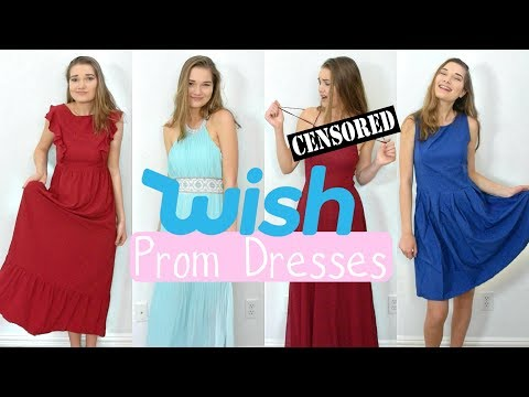 TRYING ON CHEAP PROM DRESSES UNDER $30?! *Fail*