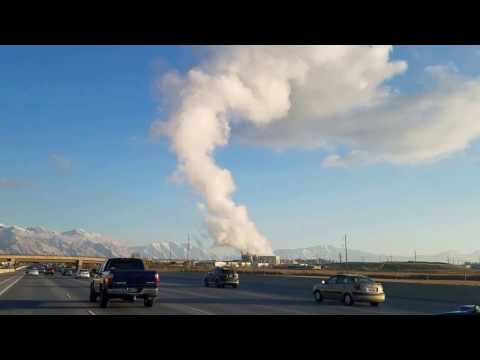 Utah Pollution Drive: I-15 South From Salt Lake City to Provo