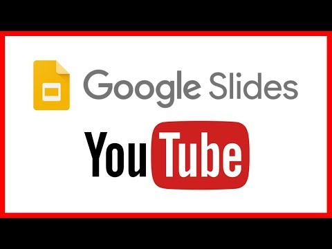 How to add a YouTube video to a Google Slide - Tutorial