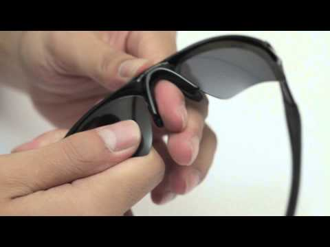Oakley Half Jacket 2.0 XL Sunglasses Lenses Replacement(Installation/Removal)