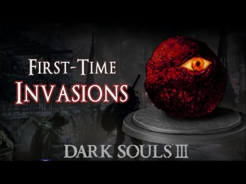 First-Time Invasions!  - Dark Souls 3 PvP Undead Settlement - Cracked Red Eye Orb Phantom