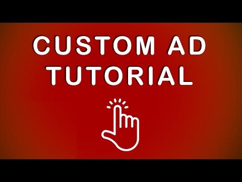 Custom Banner Ad Tutorial: Create a Custom Ad
