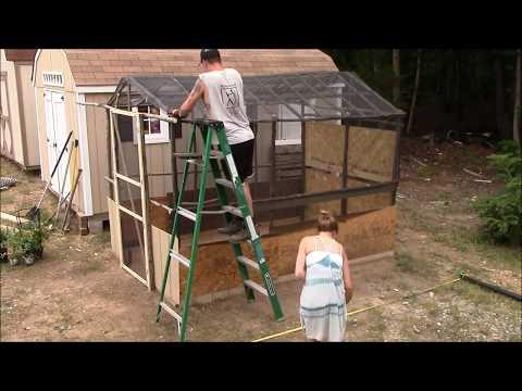 Bonsai shade house idea !