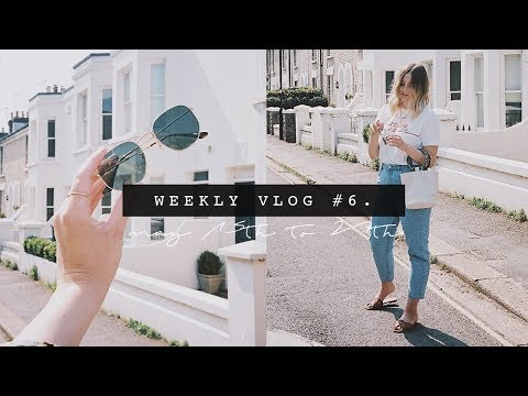 A HIGH STREET HAUL + HOW I STYLE MY HAIR | WEEKLY VLOG #6 | I Covet Thee