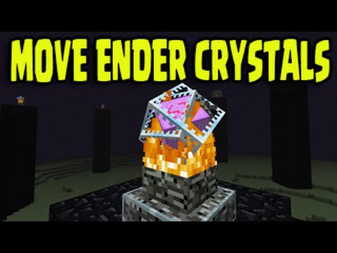 Minecraft PS3, PS4, Wii U, Xbox - MOVE ENDER CRYSTALS
