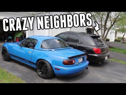 Crazy Neighbor Tried to Attack Me!