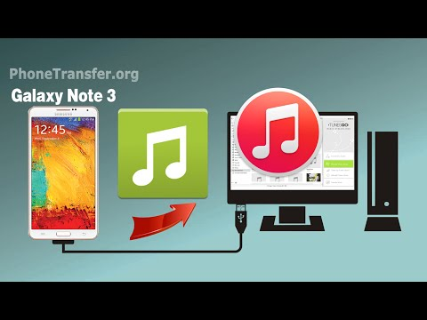[Galaxy Note 3 to iTunes]: How to Sync Music & Playlist from Samsung Galaxy Note 3 to iTunes