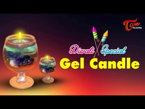 Diwali Special Gel Candle| Creative Corner || By Khushi Hobby Classes