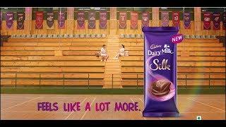 Cadbury Silk - Curvier, Smoother, Silkier