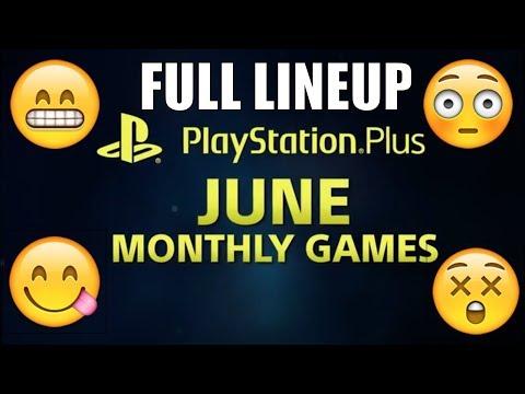 PS PLUS JUNE 2018 FREE GAMES Lineup PS4 PS3 VITA - PS PLUS JUNIO Juego's Gratis