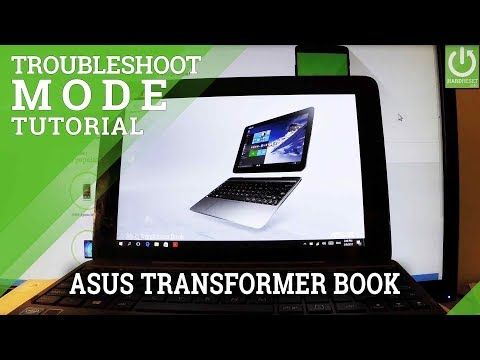 Troubleshoot Mode ASUS Transformer Book - Windows Recovery Mode