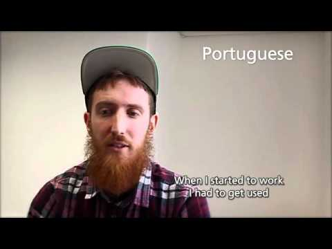 Matthew Youlden speaks nine languages fluently.