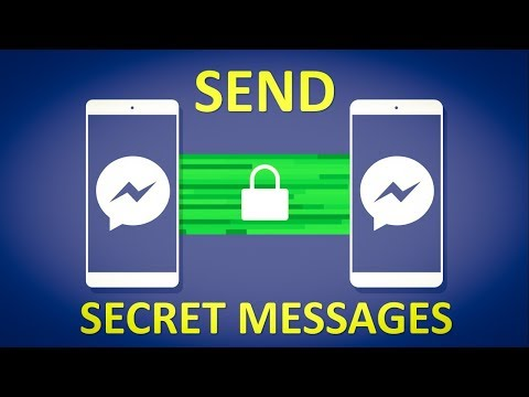 How to send Secret or Encrypted conversations on Messenger | Facebook Tips and Tricks