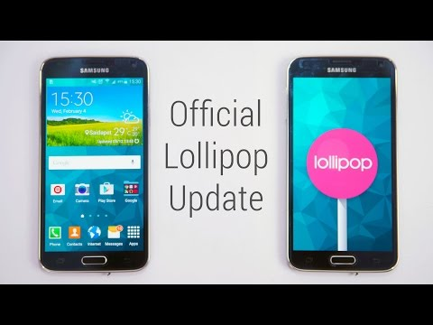 Galaxy S5 (Exynos) - Official Android 5.0 Lollipop Update - Install Instructions (SM-G900H Only)