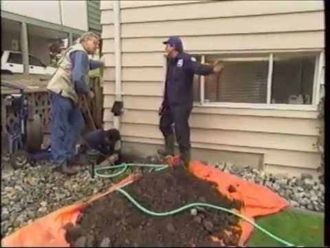 How To Clear A Blocked Perimeter Drain