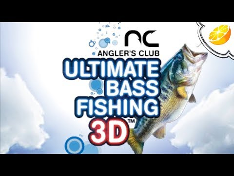 Citra Emulator Canary 464 Angler's Club: Ultimate Bass Fishing 3D (GPU Shaders, Full Speed!) | 3DS