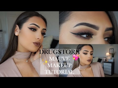 DRUGSTORE: Mauve Makeup Tutorial