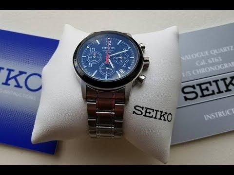 Seiko  Meca-Quartz Chronograph SSB011 VK63 Unboxed!
