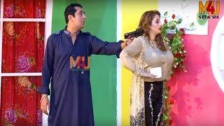 Zafri Khan with Affi Khan and Abid Charlie | Best of M4U Masti | Stage Drama Full Comedy Clip 2019