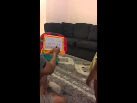 ABC CLASS BY 2 year old