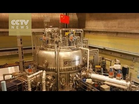 Artificial sun: China makes breakthrough in nuclear fusion development