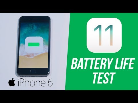 iOS 11 on iPhone 6: Battery Drain Performance Test! (How Long Will It Last? & How to Improve)