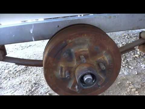 Surge Brake, Wheel Brake Cylinder Replacement DIY