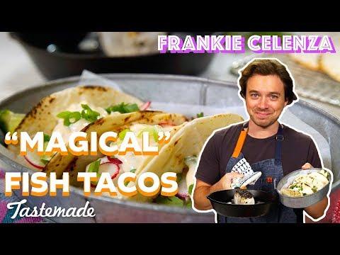 The Secret to Sea Bass Tacos I Frankie Celenza