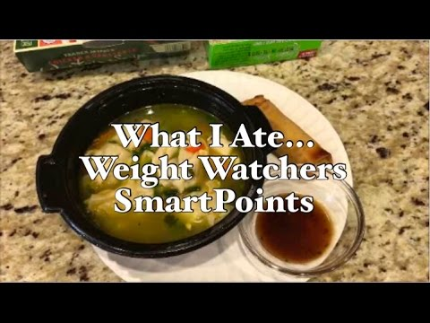 What I Ate on Weight Watchers SmartPoints