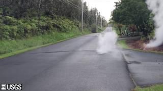 Leilani Estates Kilauea Volcano Eruption Fissure 3