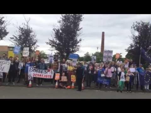 Bath PM protest